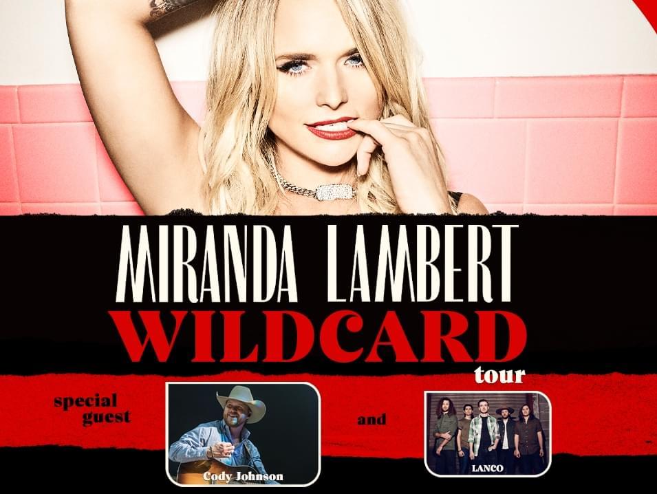 Miranda Lambert is coming to Kat Country