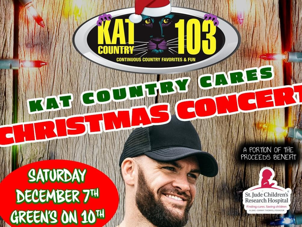 {SOLD OUT!!!} Presenting the Kat Country Cares Christmas Concert