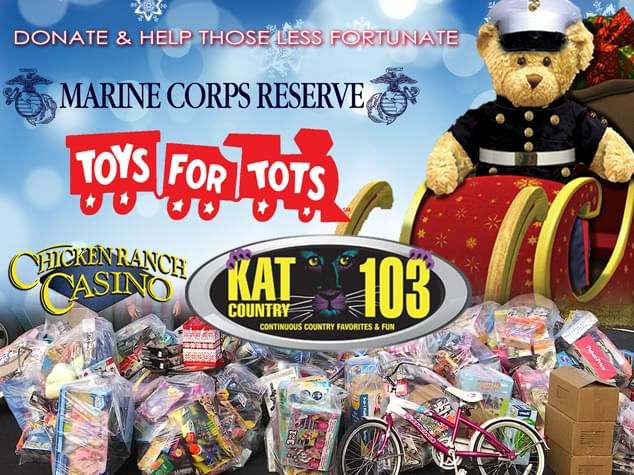 The 2019 Toys 4 Tots is here!