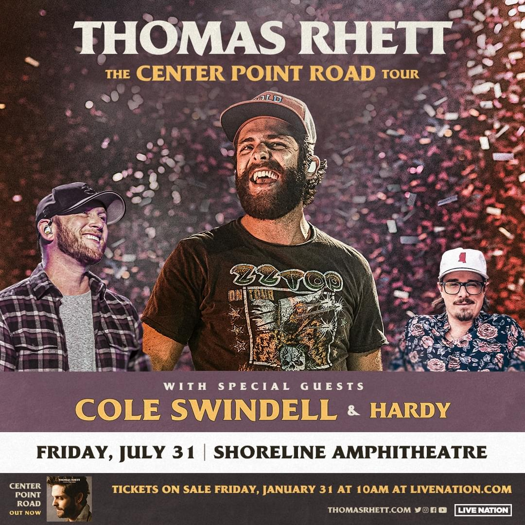 Thomas Rhett is coming to Kat Country! Get your tickets here…