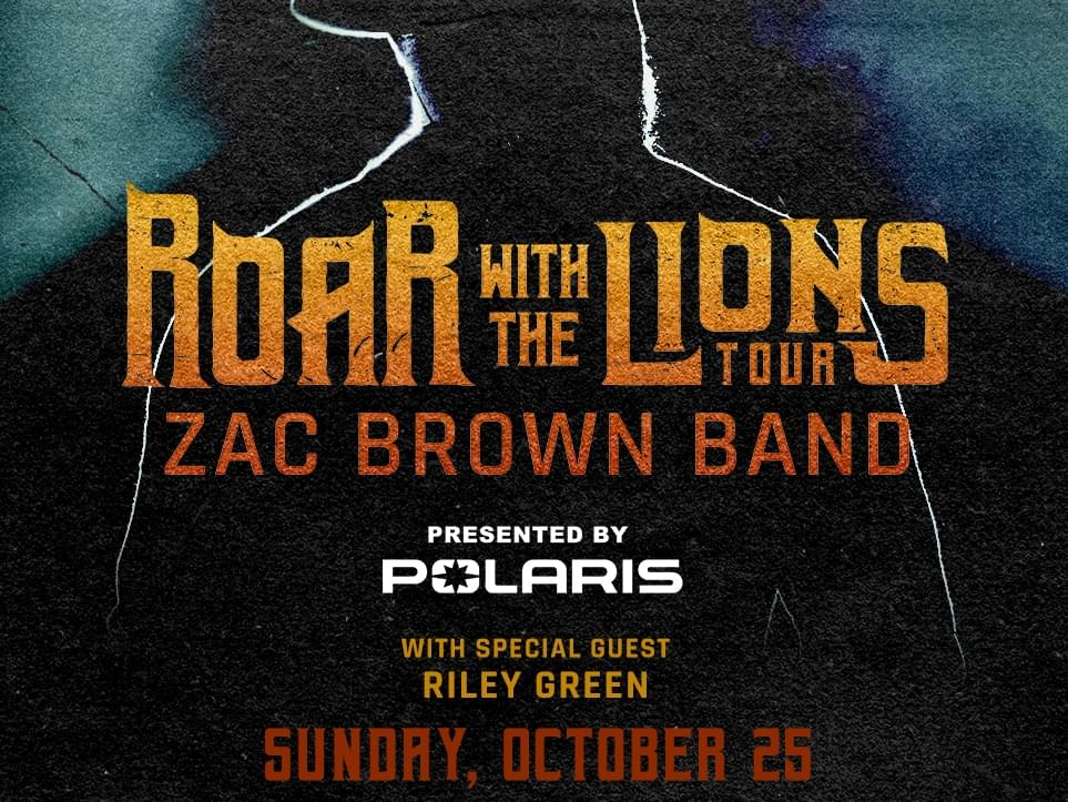 Zac Brown Band's Roar with the Lions Tour is coming to Kat Country!