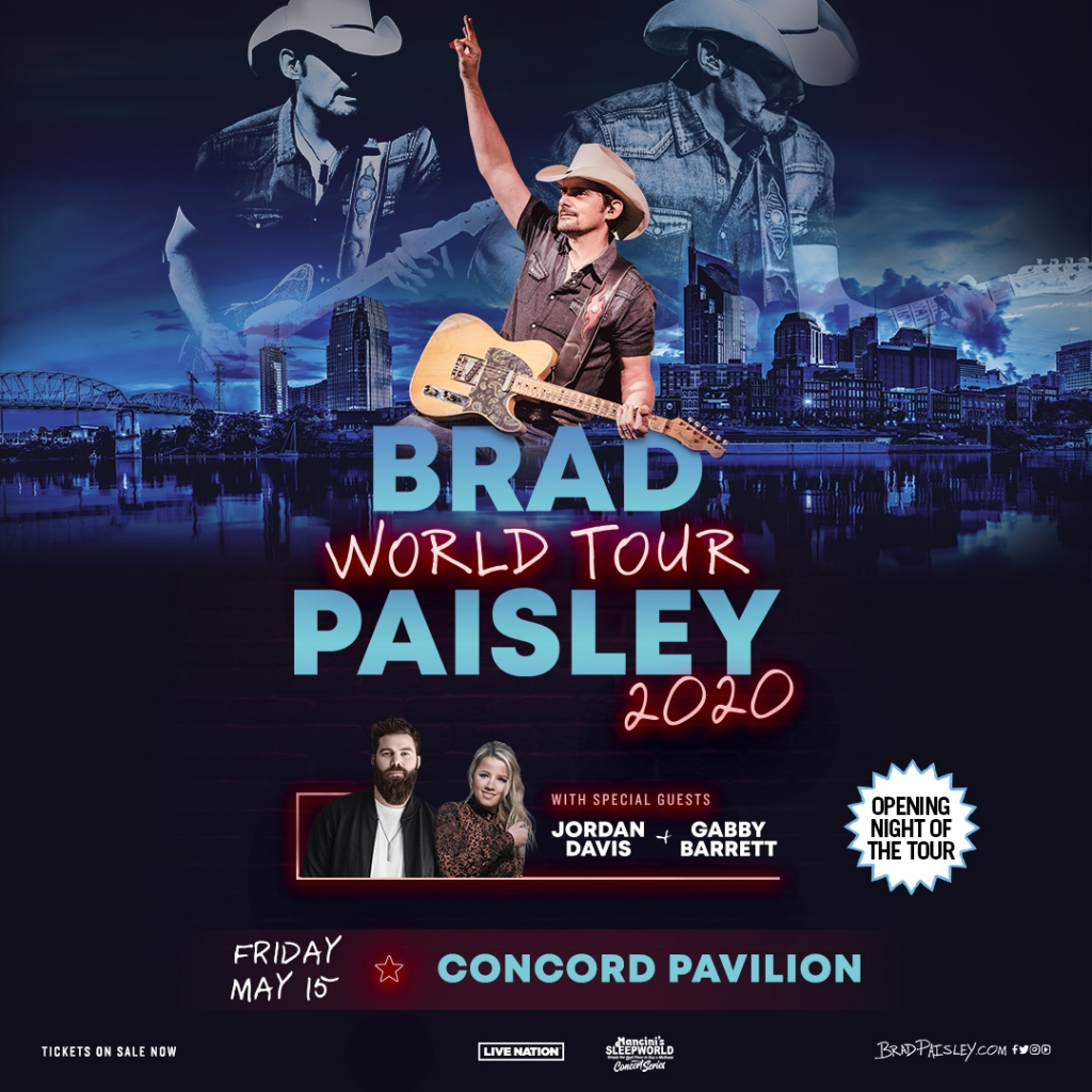 Brad Paisley is coming to Kat Country!