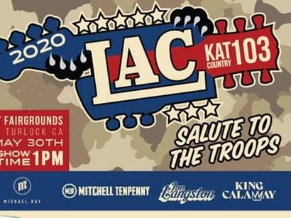 Kat Country's LAC 2020 is here and this year, we're saluting our troops!