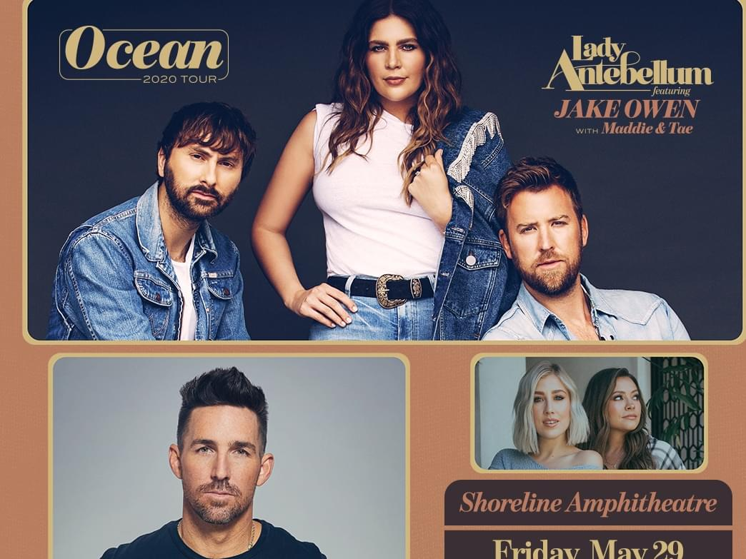 Lady Antebellum is coming to Kat Country!! {UPDATED SCHEDULE}