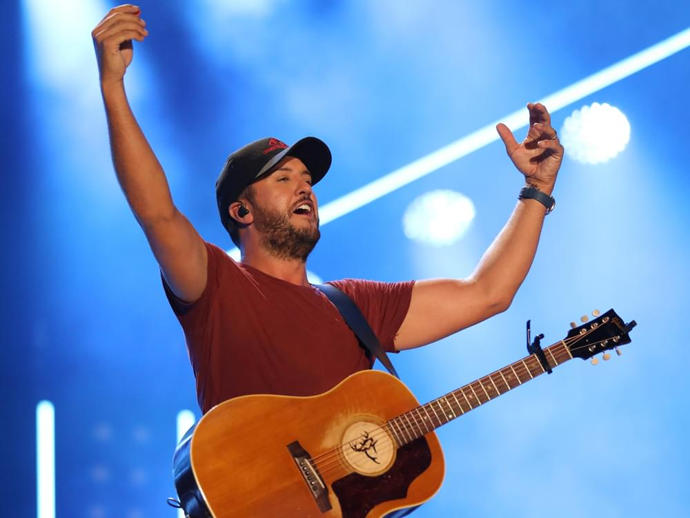 "Luke Bryan Scores 24th No. 1 Single With ""What She Wants Tonight"""
