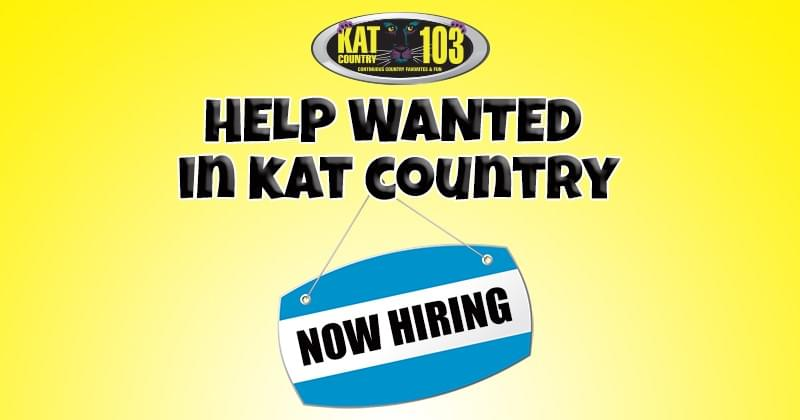 "The ""HELP WANTED IN KAT COUNTRY"" Social Wall!"