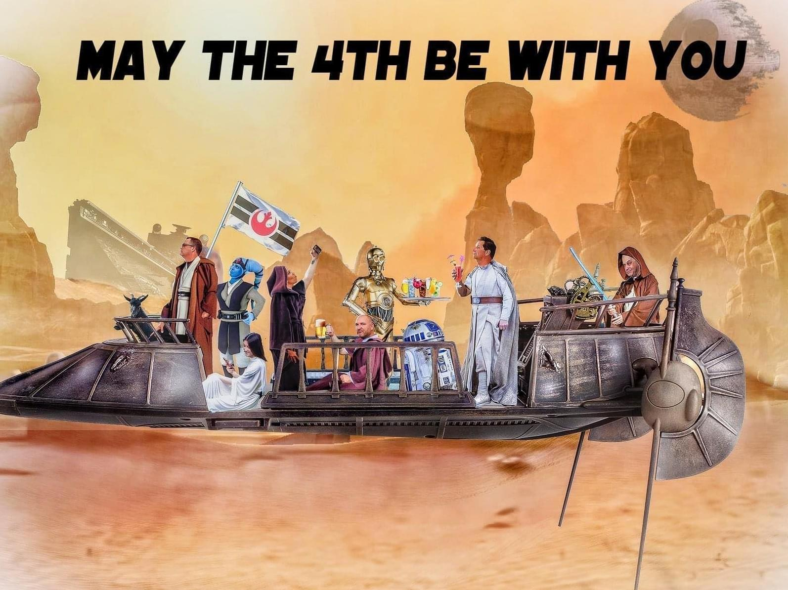 May the 4th be with you Jedis