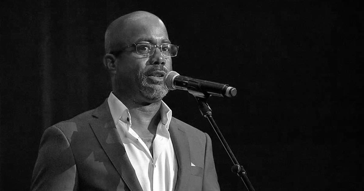 Darius Rucker's Message of Unity
