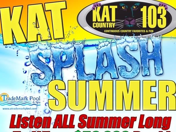 Win A $50,000 Pool From Trademark Pool & Spa With Kat Splash Summer 2020