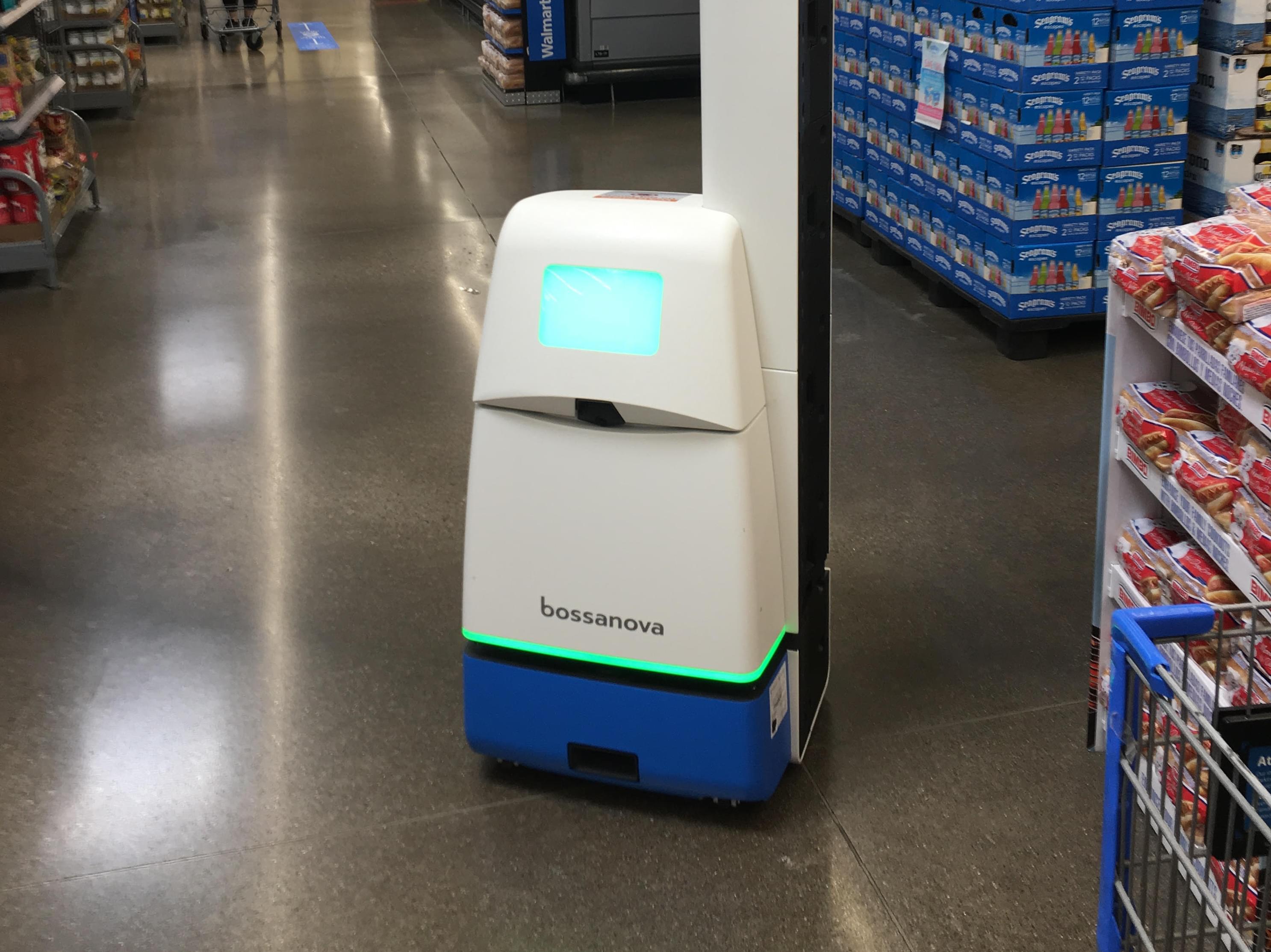walmart robot