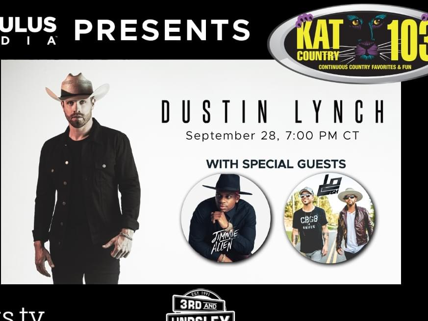 Wanna see Dustin Lynch in a LIVESTREAM show? Get details and ticket info here…