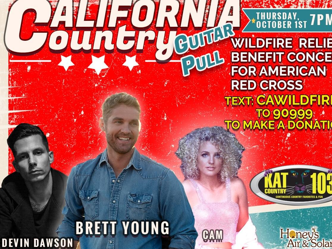 Kat Country 103 and Honey's Air and Solar present the 2nd Virtual All-California Country Guitar Pull