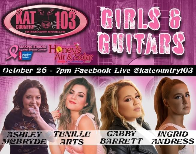 Girls & Guitars 2020 is here!