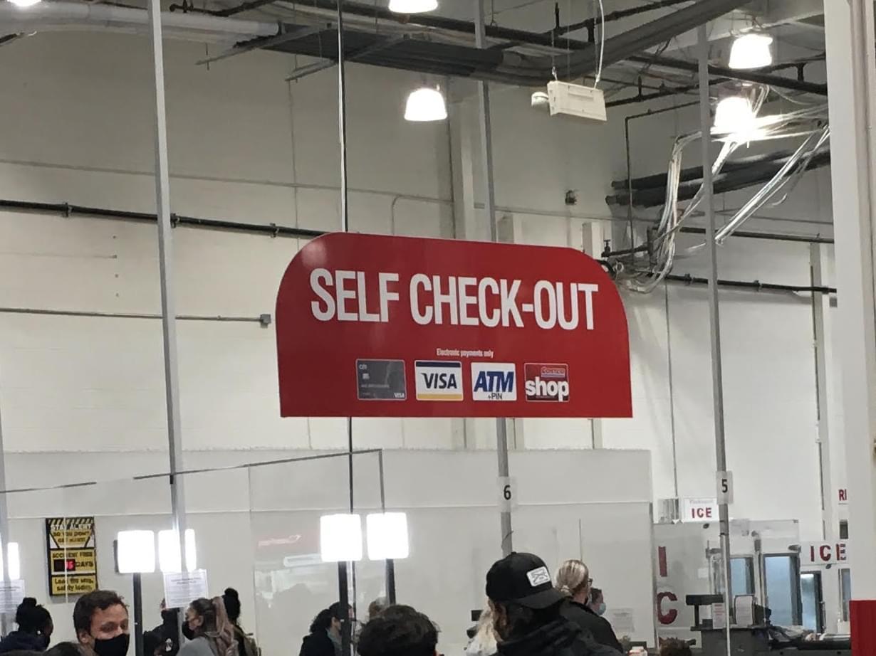 costco self-checkout