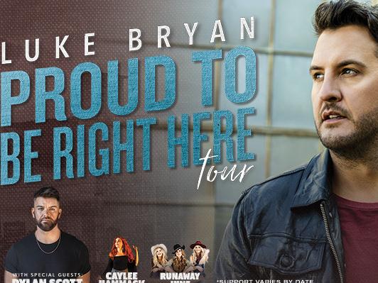 Luke Bryan is coming to Kat Country!!!