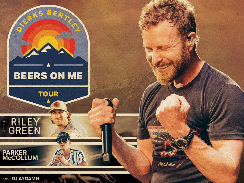 Dierks Bentley is coming to Kat Country!!!!