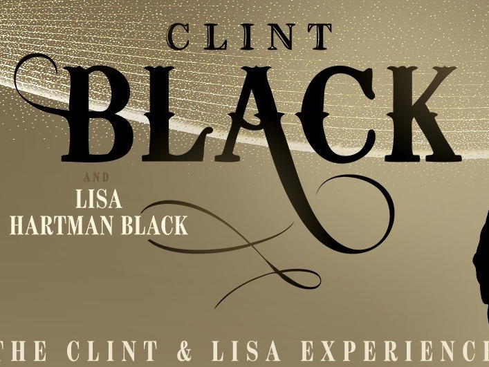 Clint Black and Lisa Hartman Black are coming to Kat Country!