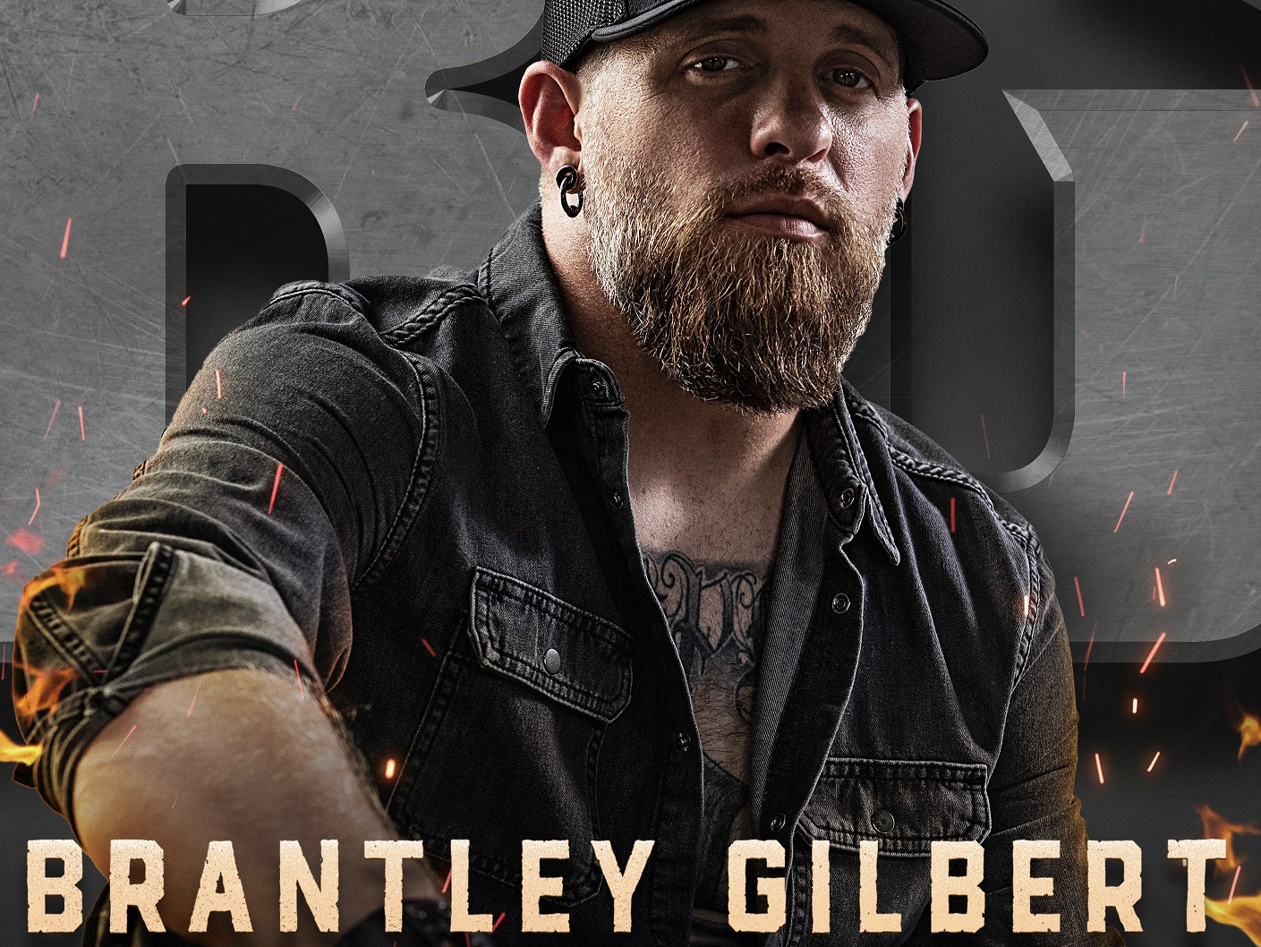 Brantley Gilbert is coming to Kat Country!