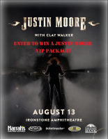 Enter To Win A Justin Moore VIP Ticket Package!
