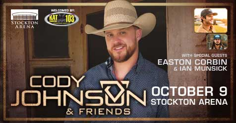 Cody Johnson in Kat Country!!