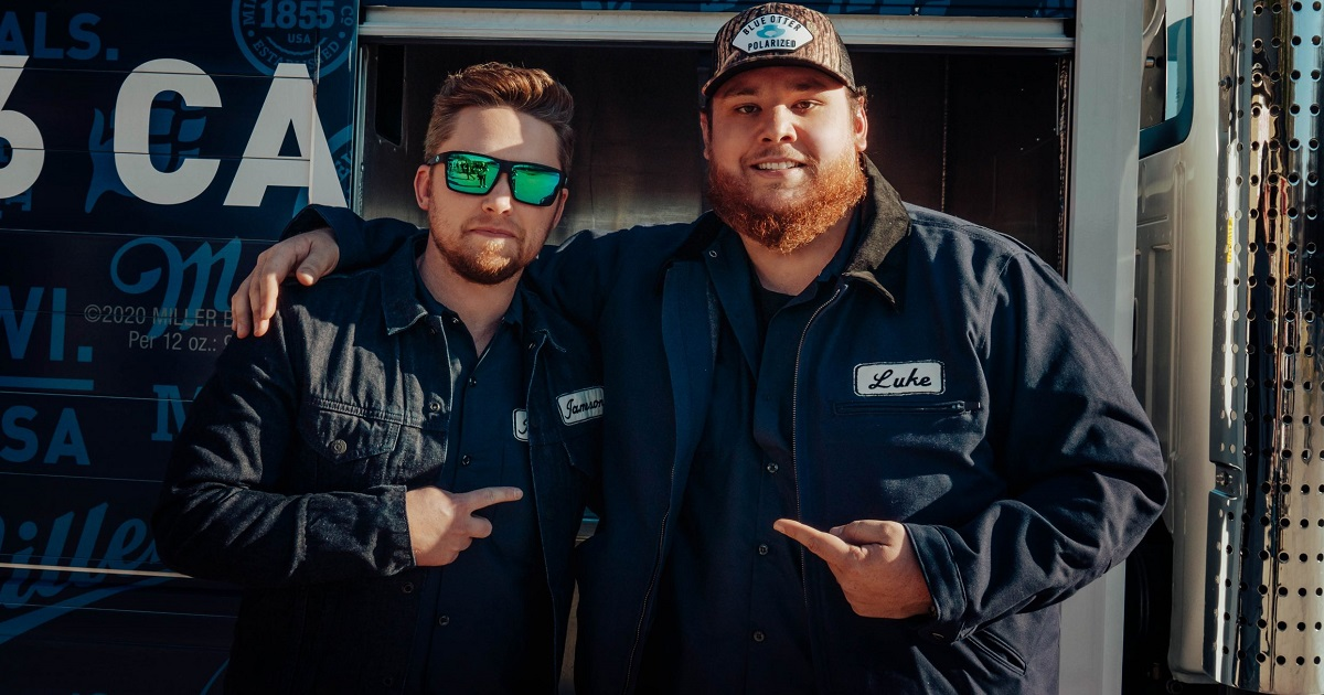 Jameson Rodgers & Luke Combs Hear Number-One Calling Their Names