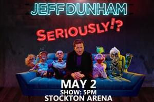 Jeff Dunham @ Stockton Arena
