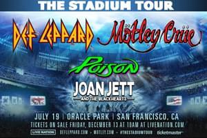 Def Leppard & Motley Crue – The Stadium Tour