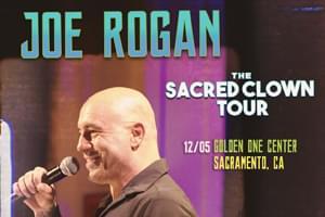 Joe Rogan in Sacramento