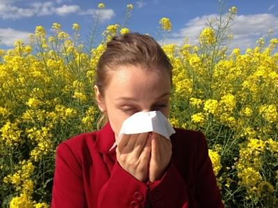 Allergy Season is OFFICIALLY HERE