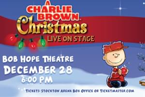 A Charlie Brown Christmas Live in Stockton