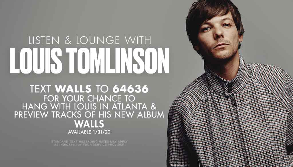 Listen and Lounge with Louis Tomlinson