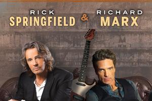 Throwback Show – Rick Springfield & Richard Marx @ The Fruit Yard