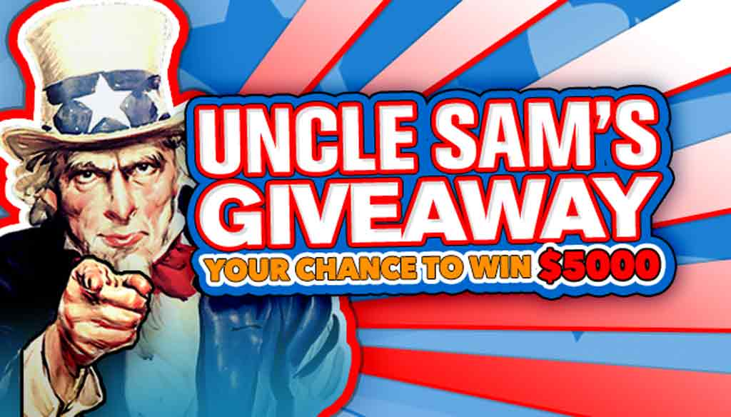 Uncle Sams Giveaway