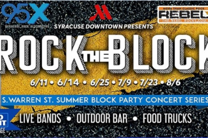 Rock the Block | Summer Block Party Concert Series