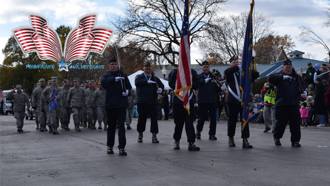 Honor Flight Syracuse Interviews & CNY Veterans Parade & Expo Photo Gallery