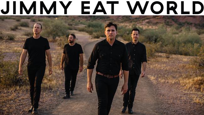 95X-Mas Pajama Jam Headliners Jimmy Eat World Talk New Album