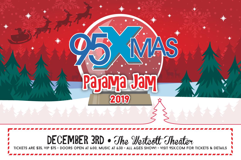 95X-Mas Pajama Jam 2019