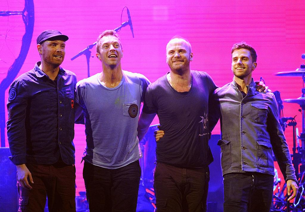 Coldplay Doesn't Give a Toss About No One