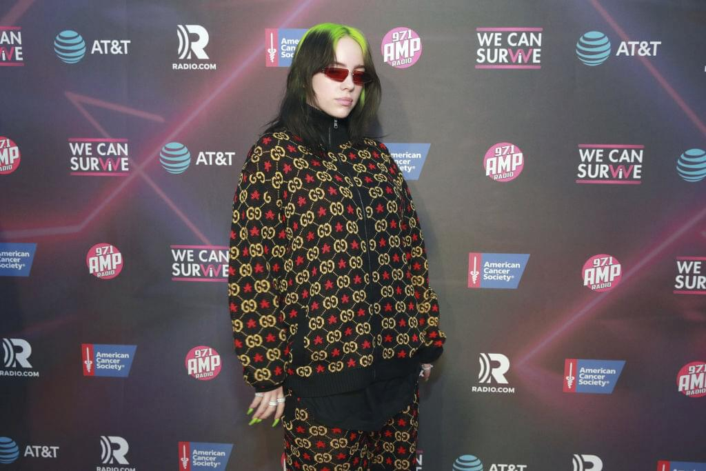Billie Eilish is Sportin' a Fullet in a New Photo