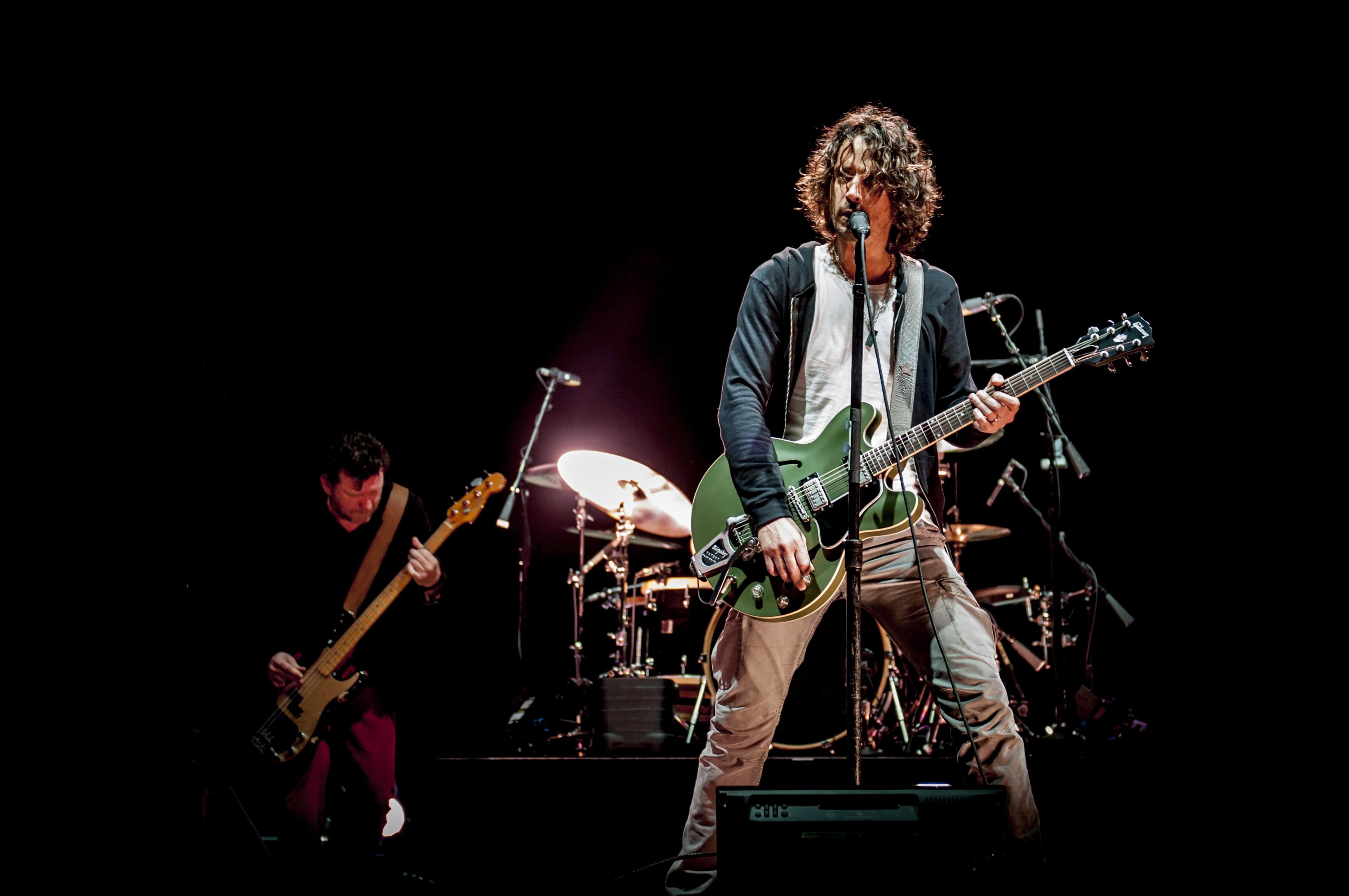 Chris Cornell's Wife is Suing Soundgarden