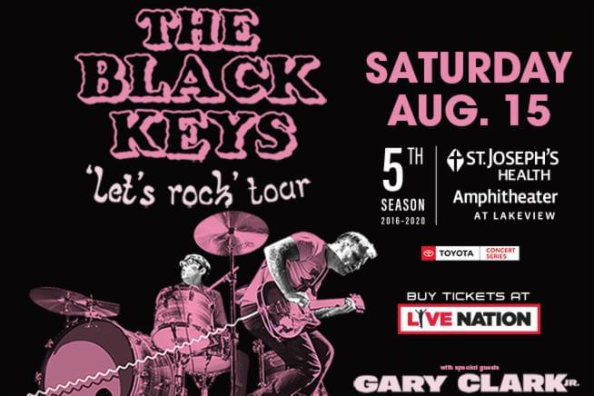 The Black Keys @ St. Joseph's Health Amphitheater CANCELLED | Aug. 15th