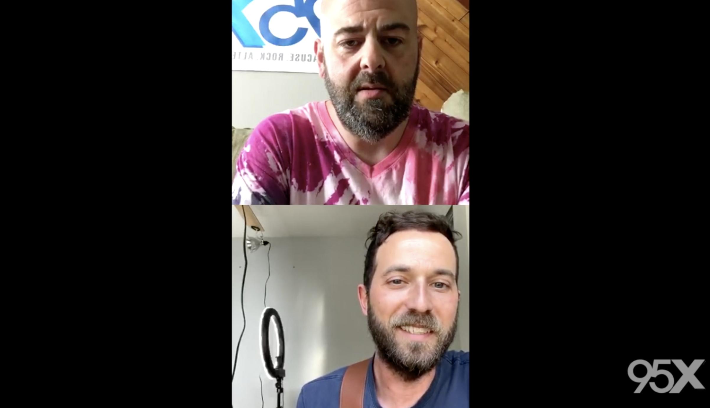 Mondo Cosmo talks new music, plays acoustic set | 95X Live