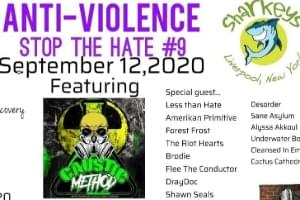 Anti-Violence – Stop The Hate #9 | September 12th