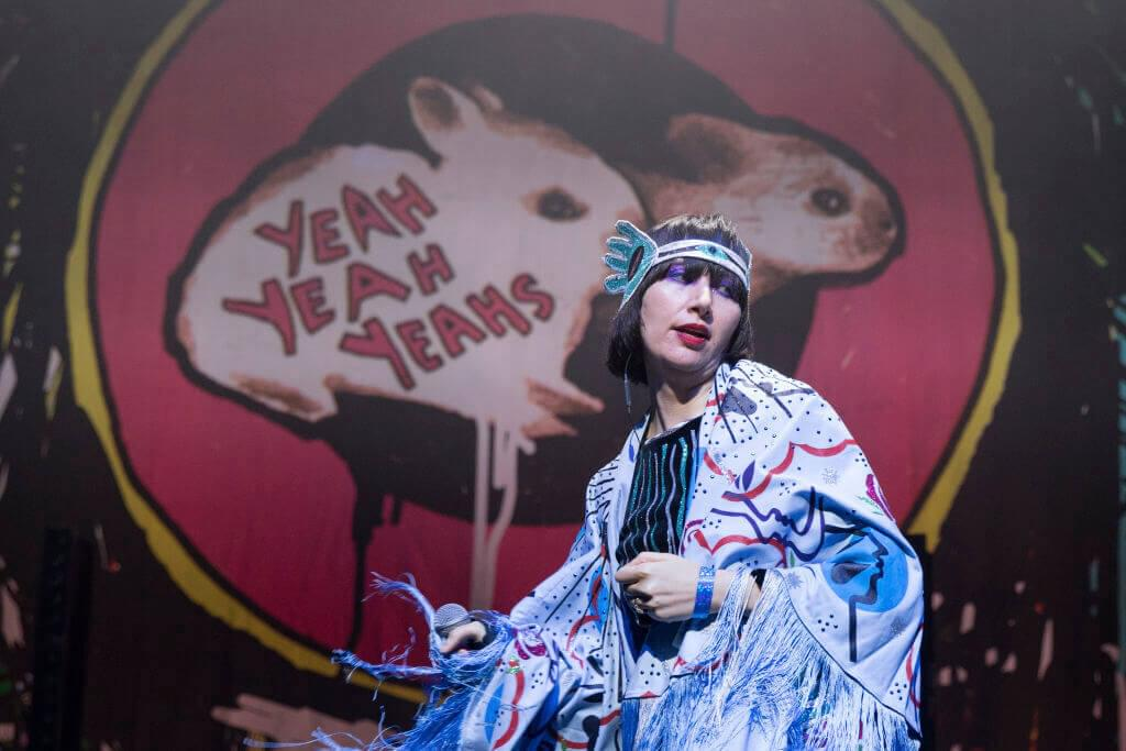 Yeah Yeah Yeahs Celebrate their Very First Show