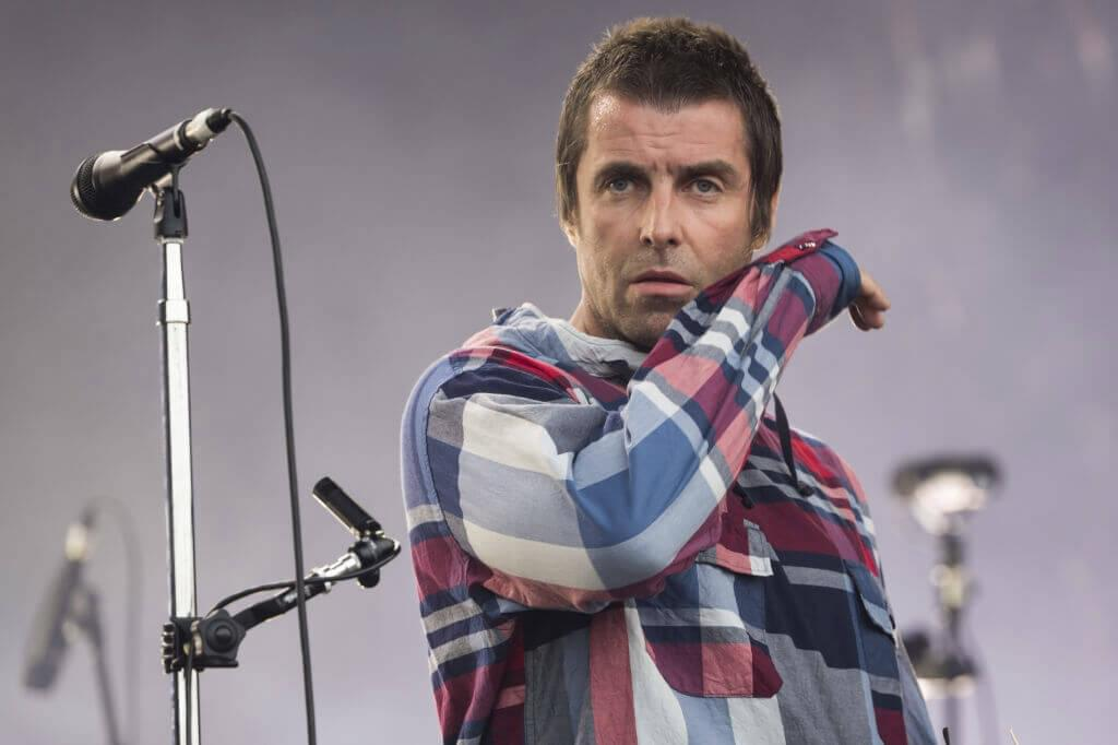 Liam Gallagher is Streaming a New Lyric Video