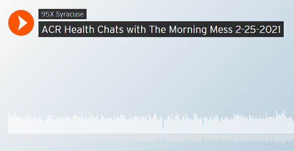 Listen to Marty and Shannon chat with ACR Health 2-25-21
