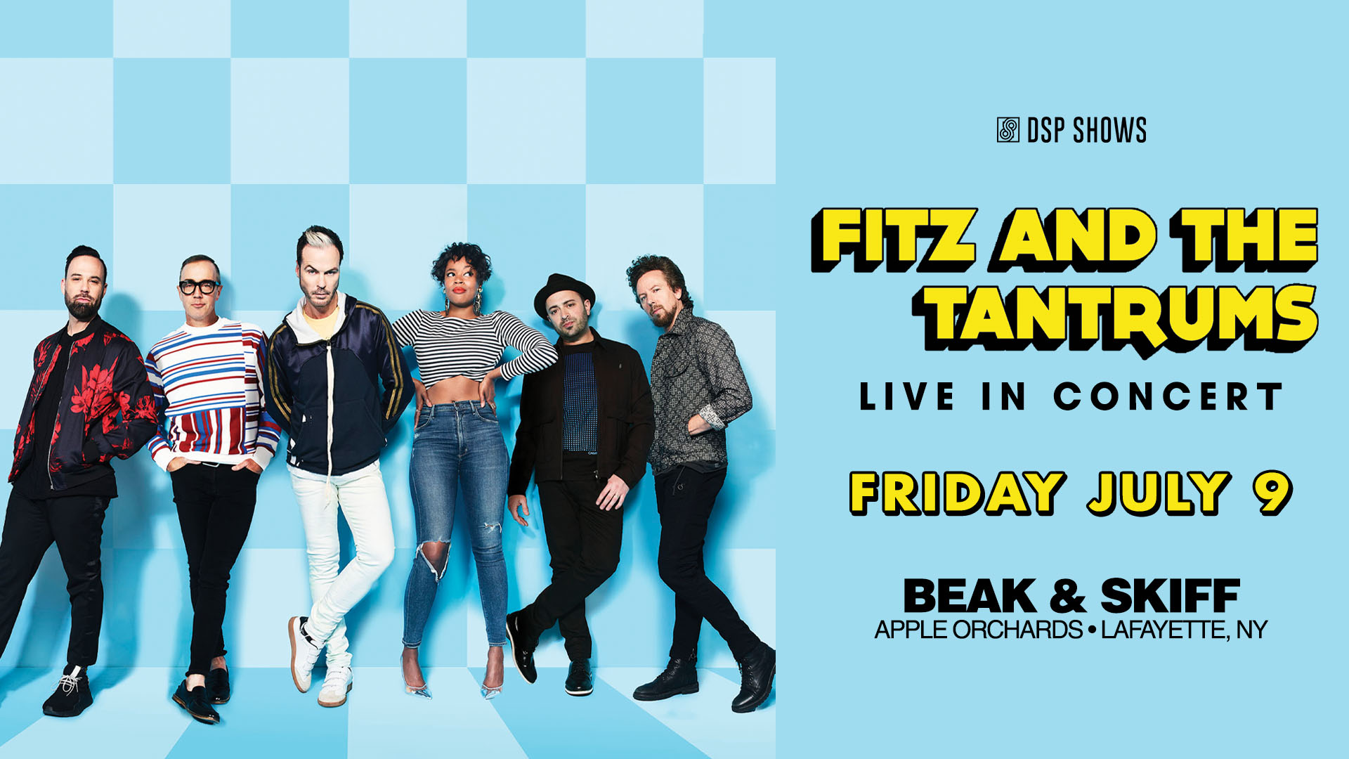 Fitz & The Tantrums at Beak & Skiff!