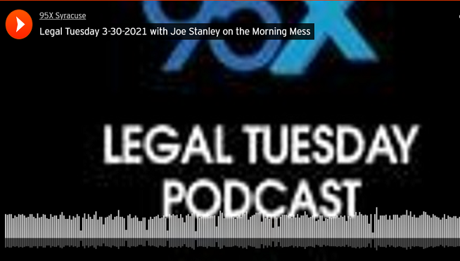 Legal Tuesday on the Morning Mess 4-27-2021