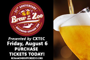 Brew At The Zoo | Friday, August 6th
