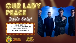 """""""Our Lady Peace"""" 